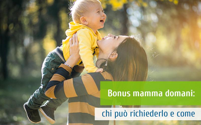 Bonus mamma domani: chi può richiederlo e come
