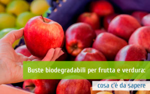 Buste biodegradabili per frutta e verdura