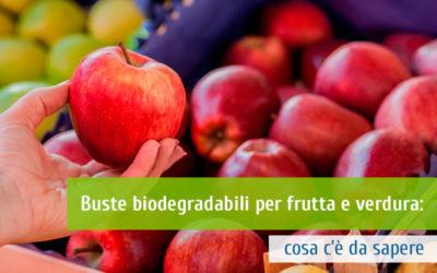Buste biodegradabili per frutta e verdura: cosa c'è da sapere