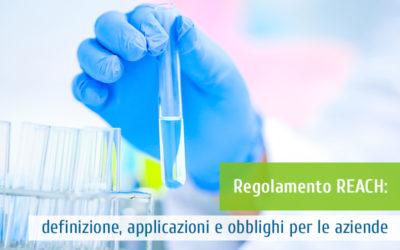 Regolamento REACH: definizione, applicazioni e obblighi per le aziende