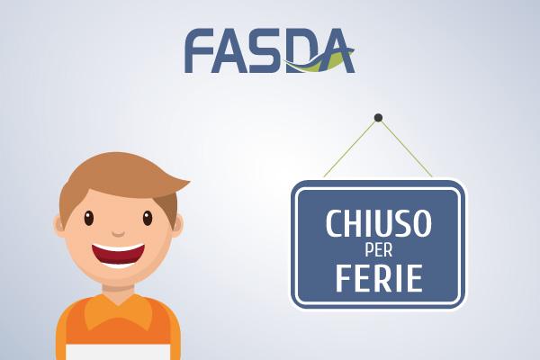 Chiusura estiva uffici Fondo FASDA
