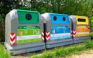 raccolta differenziata e smaltimento in discarica