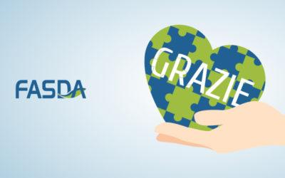 Fondo FASDA ringrazia tutti i suoi iscritti
