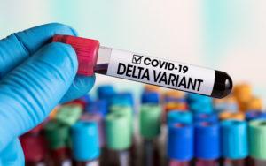 La variante Delta ha una prevalenza pari al 22,7%