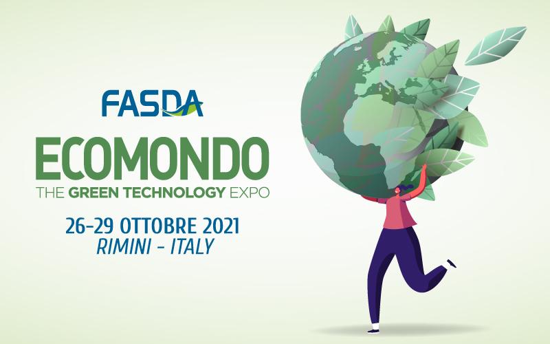 Fondo FASDA parteciperà all'edizione Ecomondo 2021, ti aspettiamo!
